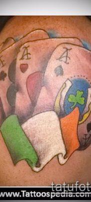 Тату 4 туза (значение) – пример интересного рисунка тату – 002 tatufoto.com
