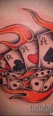 Тату 4 туза (значение) – пример интересного рисунка тату – 010 tatufoto.com