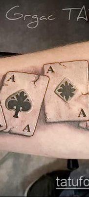 Тату 4 туза (значение) – пример интересного рисунка тату – 018 tatufoto.com