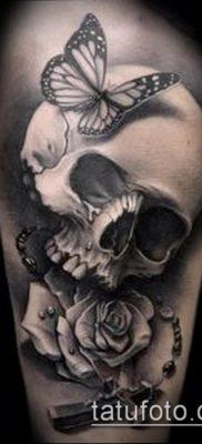 ворон на черепе тату (значение) – пример интересного рисунка тату – 001 tatufoto.com