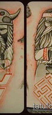 тату Велес фото (значение) – пример интересного рисунка тату – 005 tatufoto.com