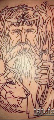 тату Велес фото (значение) – пример интересного рисунка тату – 018 tatufoto.com
