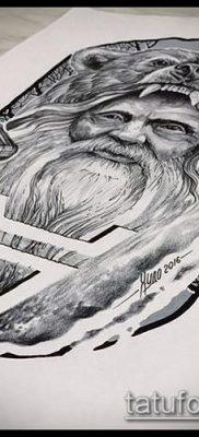 тату Велес фото (значение) – пример интересного рисунка тату – 021 tatufoto.com