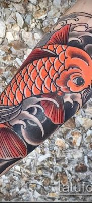 тату КОИ фото (значение) – пример интересного рисунка тату – 002 tatufoto.com