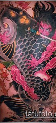 тату КОИ фото (значение) – пример интересного рисунка тату – 021 tatufoto.com