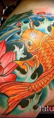 тату КОИ фото (значение) – пример интересного рисунка тату – 033 tatufoto.com
