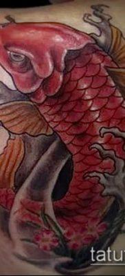 тату КОИ фото (значение) – пример интересного рисунка тату – 045 tatufoto.com