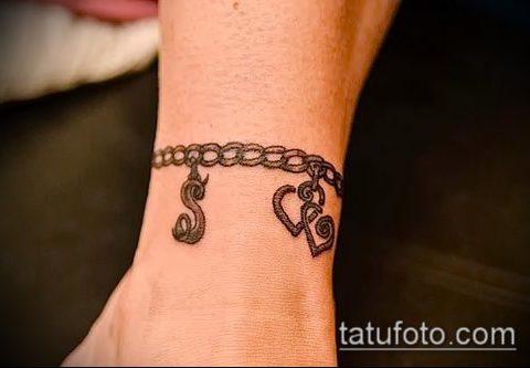 тату браслет фото (значение) - пример интересного рисунка тату - 019 tatufoto.com
