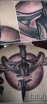 тату весы (зодиак) (значение) – пример интересного рисунка тату – 001 tatufoto.com