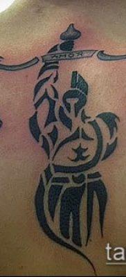 тату весы (зодиак) (значение) – пример интересного рисунка тату – 019 tatufoto.com