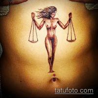 Значение тату весы