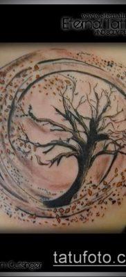 тату ветер фото (значение) – пример интересного рисунка тату – 002 tatufoto.com