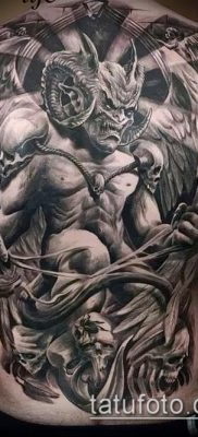 тату демон фото (значение) – пример интересного рисунка тату – 007 tatufoto.com