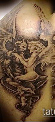 тату демон фото (значение) – пример интересного рисунка тату – 015 tatufoto.com