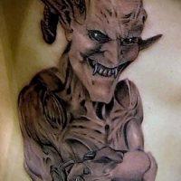 Значение тату демон