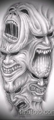 тату демон фото (значение) – пример интересного рисунка тату – 056 tatufoto.com