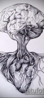 тату дерево с корнями (значение) – пример интересного рисунка тату – 008 tatufoto.com