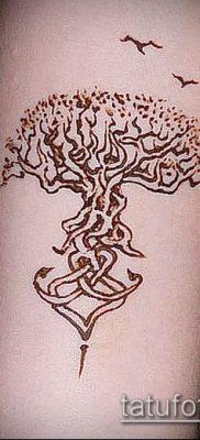 тату дерево с корнями (значение) – пример интересного рисунка тату – 017 tatufoto.com