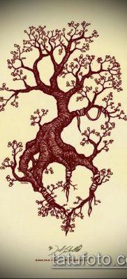 тату дерево с корнями (значение) – пример интересного рисунка тату – 022 tatufoto.com