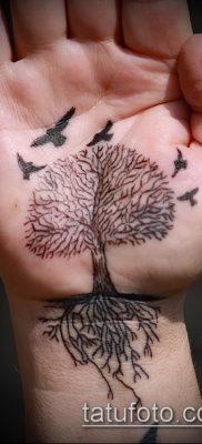 тату дерево с корнями (значение) – пример интересного рисунка тату – 024 tatufoto.com