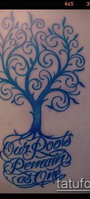тату дерево с корнями (значение) – пример интересного рисунка тату – 028 tatufoto.com