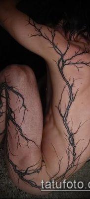 тату дерево с корнями (значение) – пример интересного рисунка тату – 034 tatufoto.com