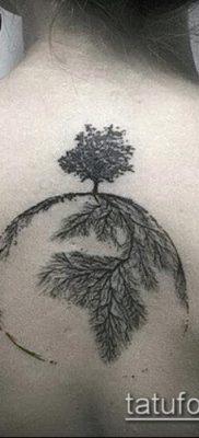 тату дерево с корнями (значение) – пример интересного рисунка тату – 045 tatufoto.com