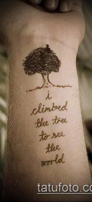 тату дерево с корнями (значение) – пример интересного рисунка тату – 048 tatufoto.com