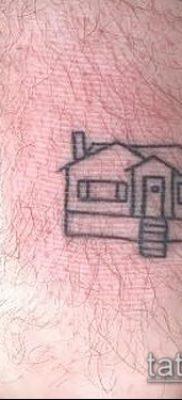 тату дом фото (значение) – пример интересного рисунка тату – 004 tatufoto.com