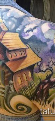 тату дом фото (значение) – пример интересного рисунка тату – 010 tatufoto.com