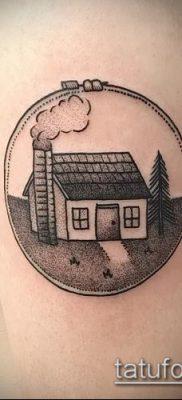 тату дом фото (значение) – пример интересного рисунка тату – 017 tatufoto.com