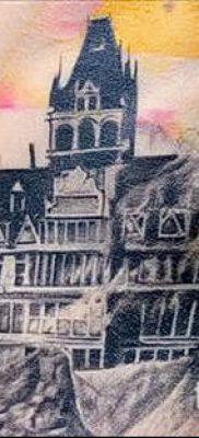 тату дом фото (значение) – пример интересного рисунка тату – 037 tatufoto.com