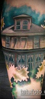 тату дом фото (значение) – пример интересного рисунка тату – 040 tatufoto.com