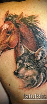 тату конь фото (значение) – пример интересного рисунка тату – 008 tatufoto.com