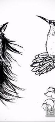 тату конь фото (значение) – пример интересного рисунка тату – 023 tatufoto.com