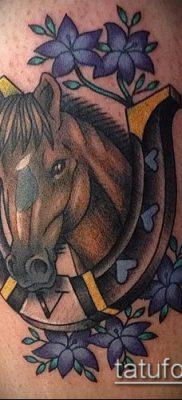 тату конь фото (значение) – пример интересного рисунка тату – 038 tatufoto.com