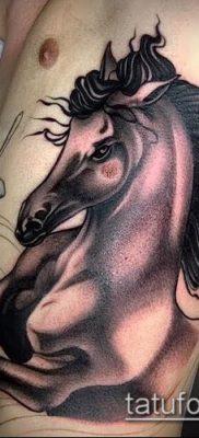 тату конь фото (значение) – пример интересного рисунка тату – 044 tatufoto.com