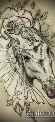 тату конь фото (значение) – пример интересного рисунка тату – 060 tatufoto.com