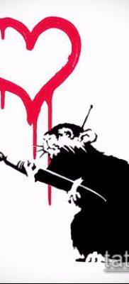 тату крыса фото (значение) – пример интересного рисунка тату – 012 tatufoto.com