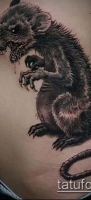 тату крыса фото (значение) – пример интересного рисунка тату – 027 tatufoto.com