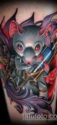 тату крыса фото (значение) – пример интересного рисунка тату – 031 tatufoto.com