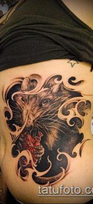 тату крыса фото (значение) – пример интересного рисунка тату – 043 tatufoto.com