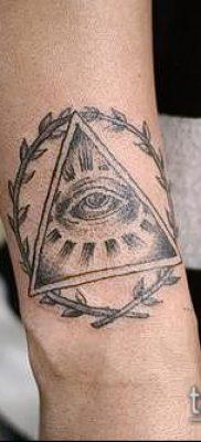 тату лавровый венок (значение) – пример интересного рисунка тату – 002 tatufoto.com