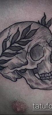 тату лавровый венок (значение) – пример интересного рисунка тату – 014 tatufoto.com