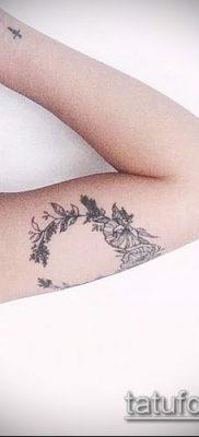 тату лавровый венок (значение) – пример интересного рисунка тату – 034 tatufoto.com