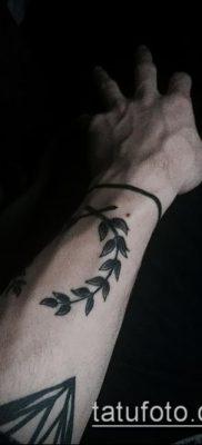 тату лавровый венок (значение) – пример интересного рисунка тату – 058 tatufoto.com