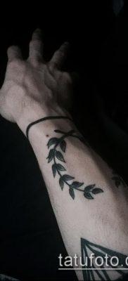 тату лавровый венок (значение) – пример интересного рисунка тату – 059 tatufoto.com