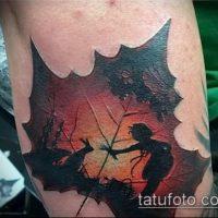 Значение тату лист
