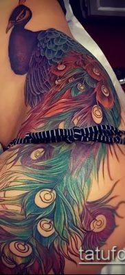 тату на бедре женские (значение) – пример интересного рисунка тату – 029 tatufoto.com