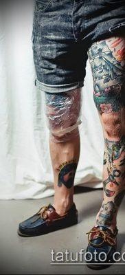тату на бедре мужские (значение) – пример интересного рисунка тату – 004 tatufoto.com